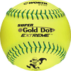"Worth Super Gold Dot Extreme 12"" ISA Approved Softball: IS44CY"