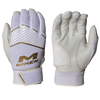 Miken Adult Softball Batting Gloves: MBGGLD
