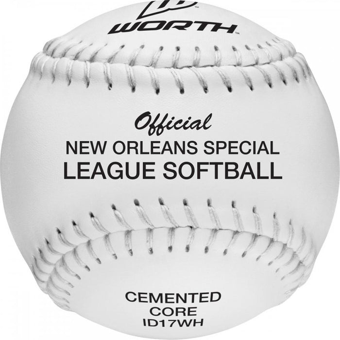 DeBeer Official New Orleans 17 Inch Softball