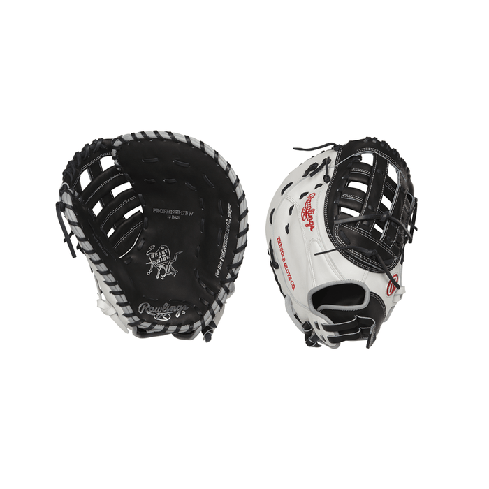"2020 Rawlings Heart of the Hide 13"" Fastpitch Softball 1st Base Mitt: PROFM19SB-17BW"