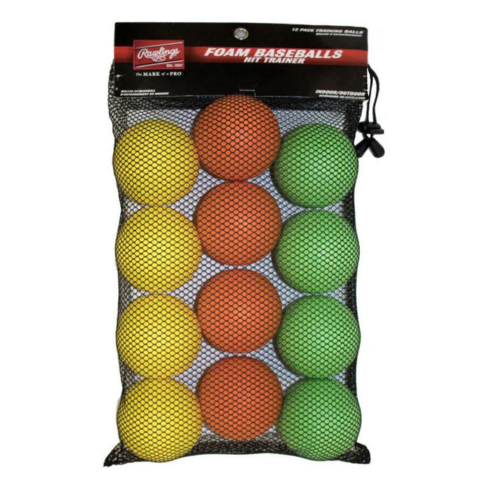 Rawlings Hit Trainer Balls 12 Pack: HITTRAIN12