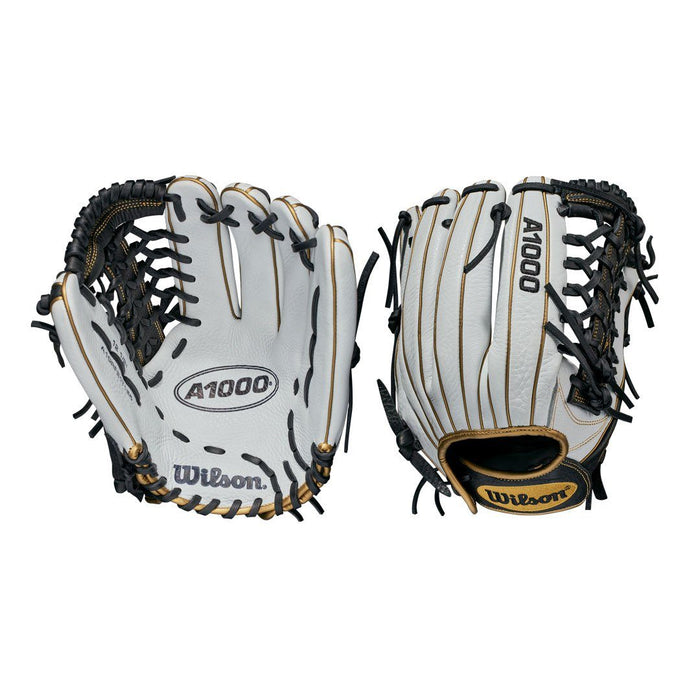 "Wilson A1000 Fastpitch Series 12.5"" Outfield Glove: T125"