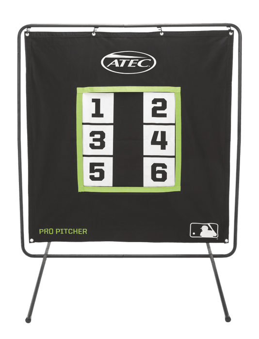 Atec Pro Pitchers Screen with Stand: WTATNPP00