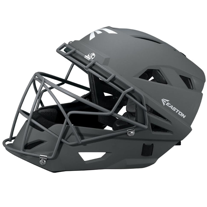 Easton Prowess™ Fastpitch Matte Catcher's Helmet Charcoal Small: A165381