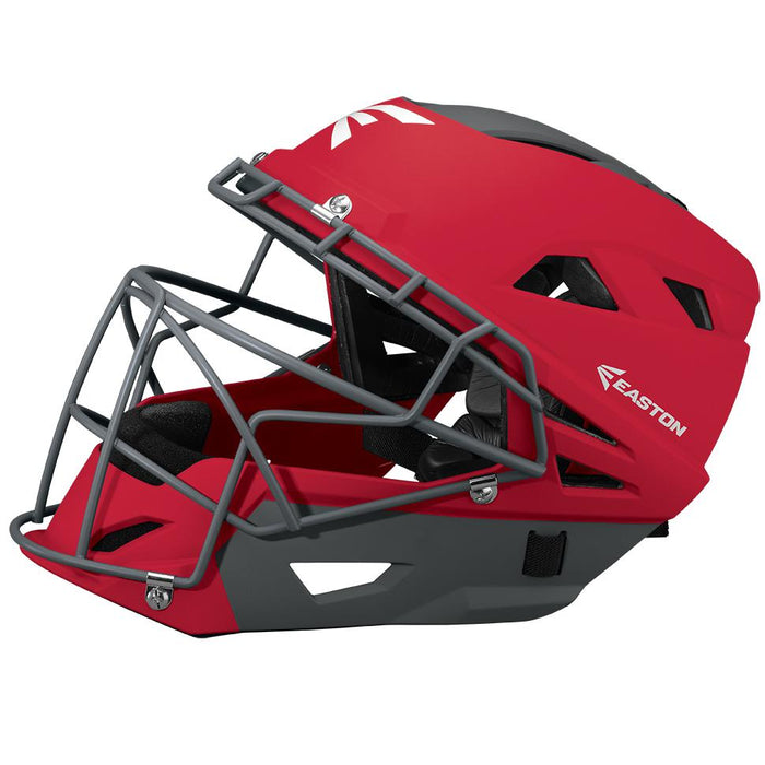 Easton Prowess™ Fastpitch Matte Catcher's Helmet Red Small: A165381