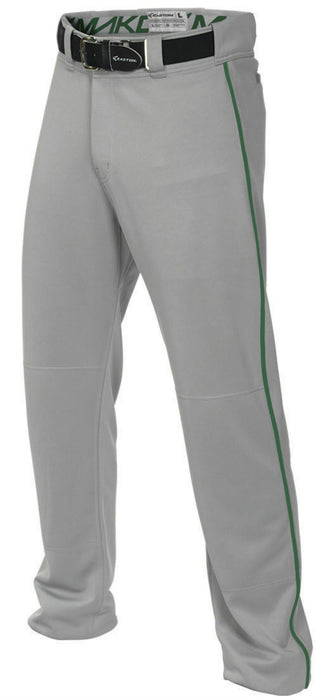 Easton Mako 2 Piped Pant Gray/Green Small: A167101