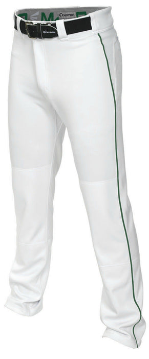 Easton Mako 2 Piped Pant White/Green 2X: A167101