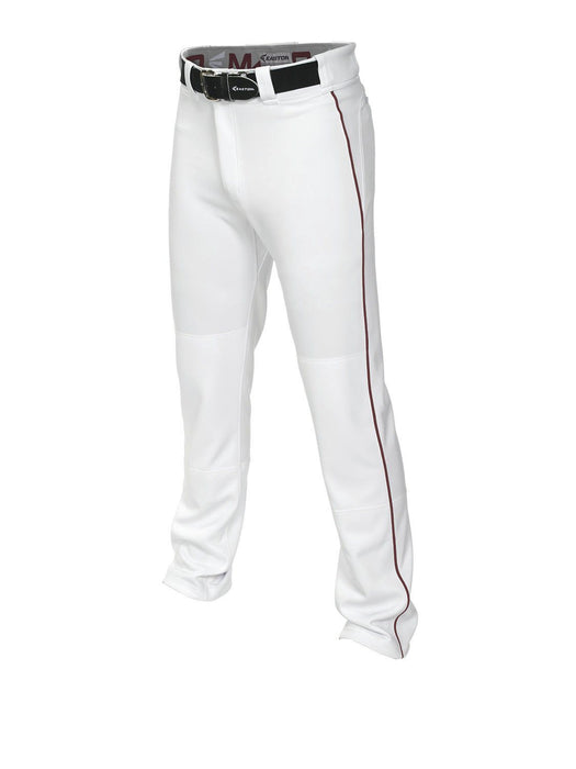 Easton Mako 2 Piped Pant White/Maroon 2X: A167101