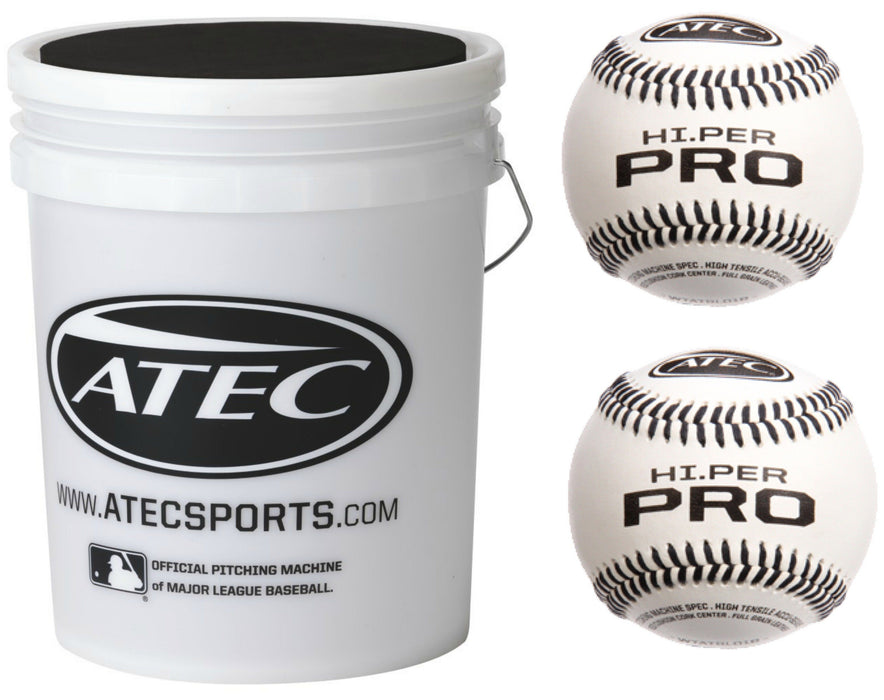 ATEC Hi Per Pro Leather ATBL01B Bucket Ball Combo: ATBL01B36