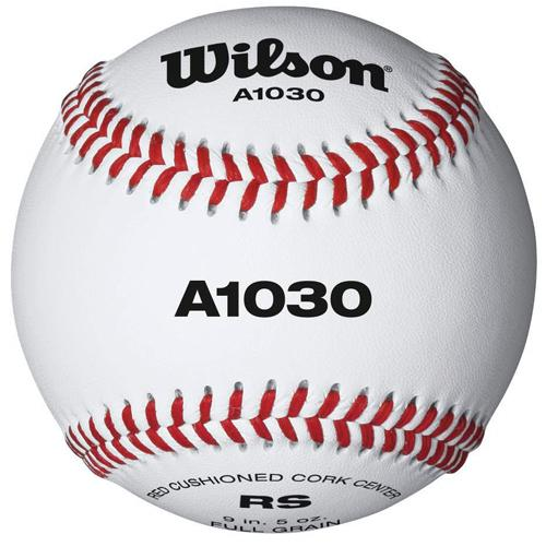 Wilson A1030B High School Practice Baseball Raised Seams