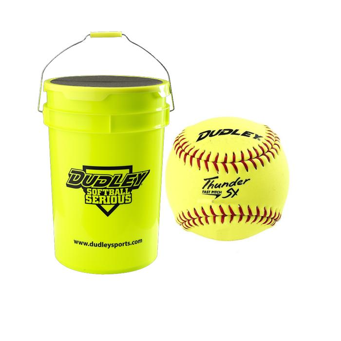 Dudley Slowpitch Softball / Bucket Combo 11 Inch: BK4306811