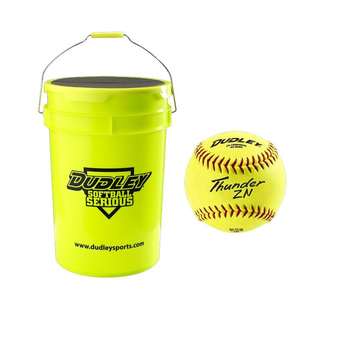 Dudley Fastpitch Softball / Bucket Combo 12 Inch: BK4306812