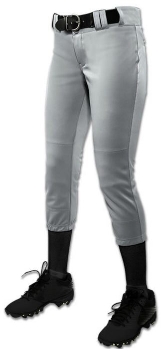 Champro Womens/Girls Tournament Low Rise Solid Pants: BP11