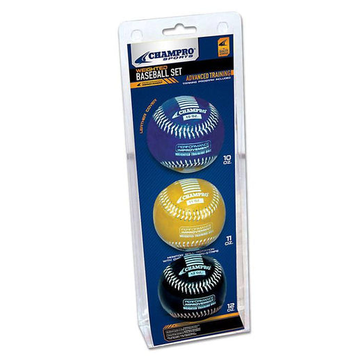 Champro Weighted Training Baseball Set: CBB7AS