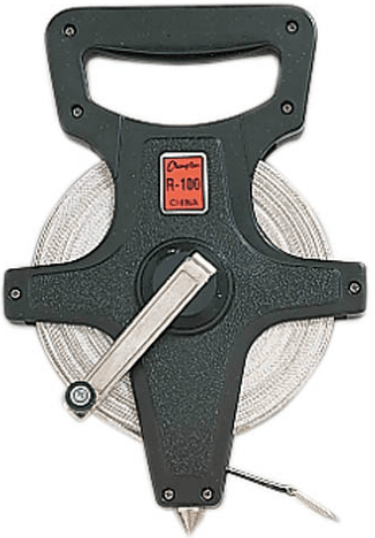 Champion 330 FT / 100 M Open Reel Measuring Tape: R330