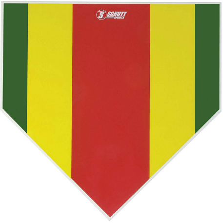 Hollywood Colored Strike Zone Mat