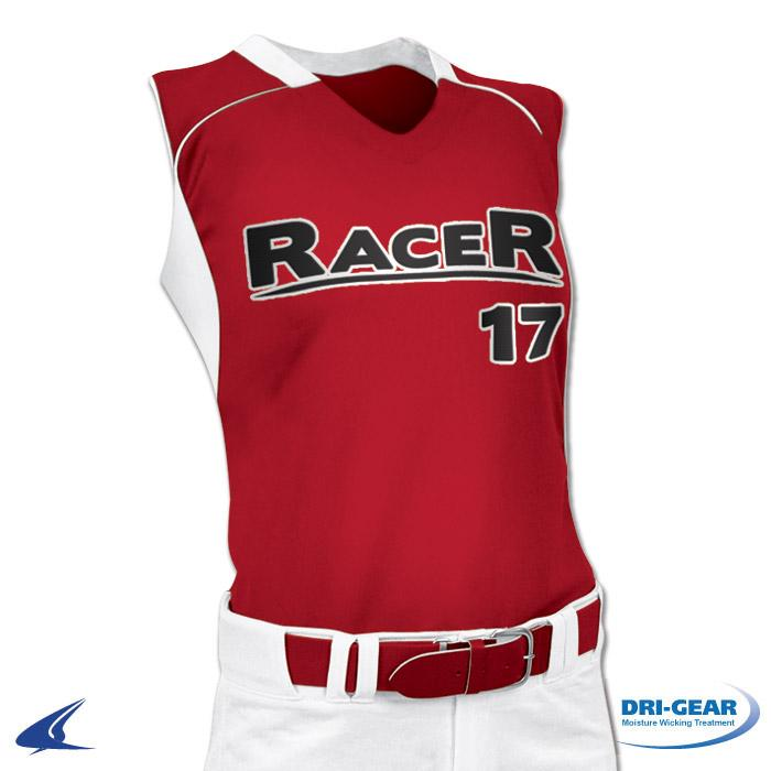 Champro Adult Racer Back Women's Fastpitch Jersey: BS17