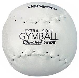 DeBeer White Extra-Soft Gymball Softball