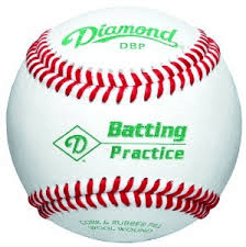 Diamond DBP official Practice Baseball