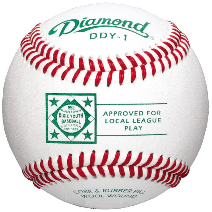 Diamond DDY1 Dixie Youth Baseball 9 inch