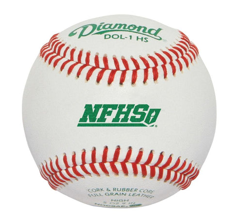 Diamond Official League NFHS Practice Baseball: DOL1-HS