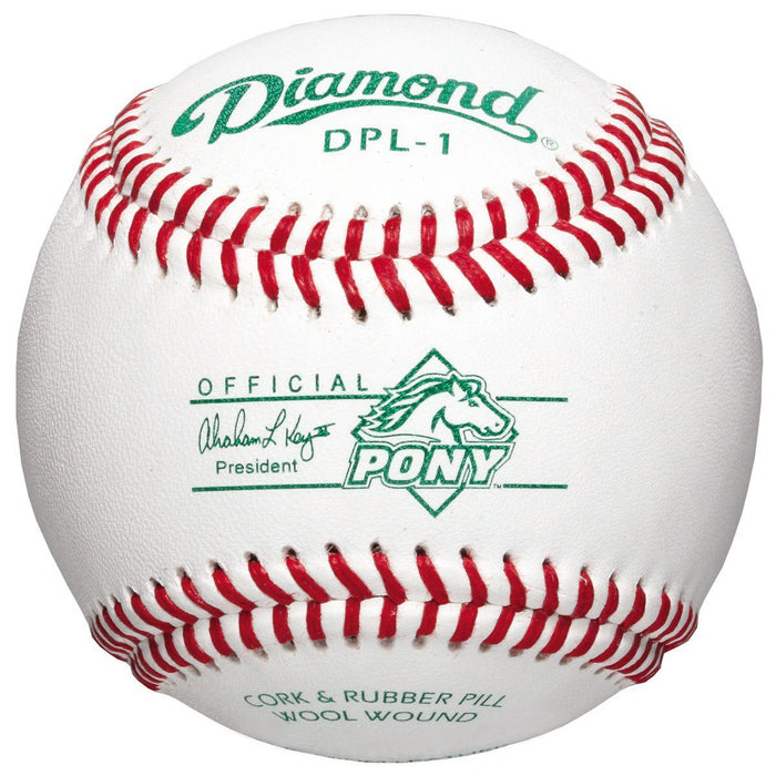 Diamond DPL1 Pony League Competition Grade Baseball: DPL1