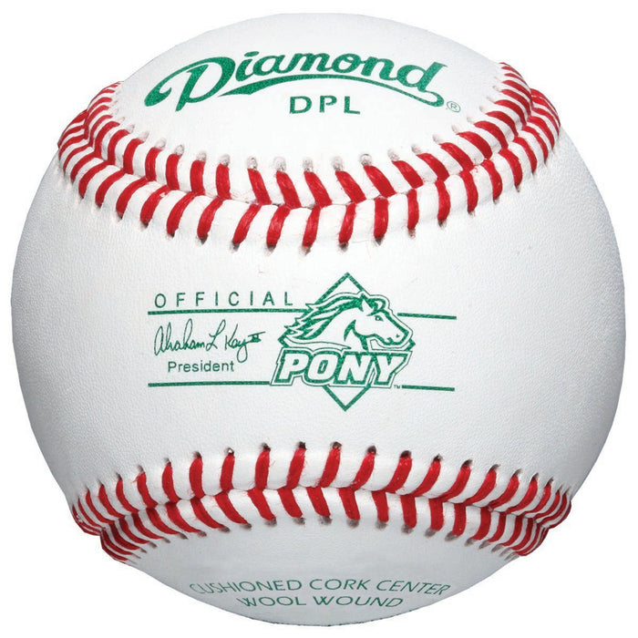 Diamond DPL Tournament Grade Pony League Baseball: DPL