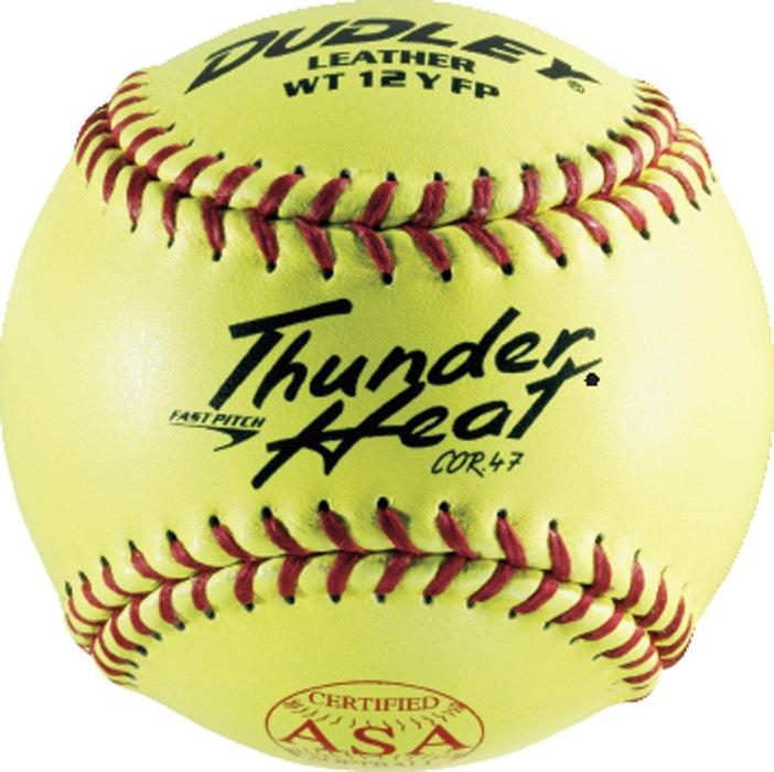 Dudley WT Series ASA Fastpitch Softball 12 Inch