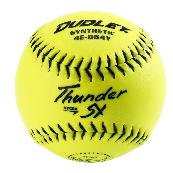 Dudley Thunder Heat Hycon NSA 11 inch Slowpitch Softball: 4E064Y