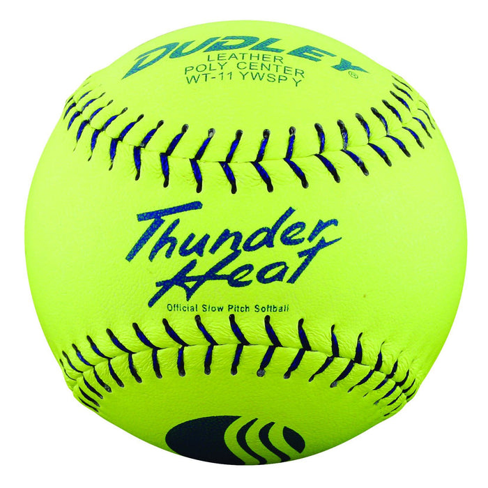 Dudley Thunder Heat Leather WT11Y USSSA Classic W Softball: 4U526Y