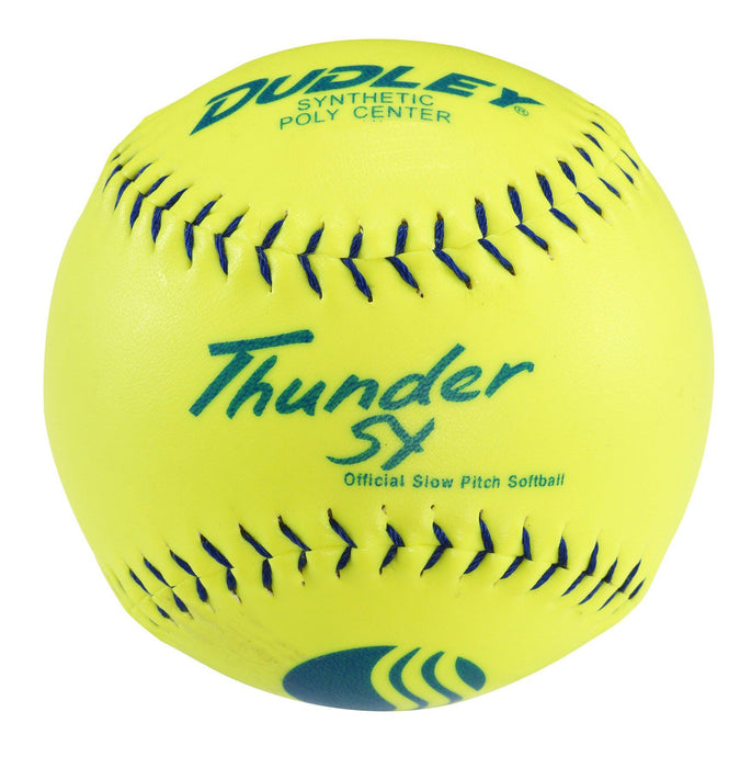 Dudley Thunder SY Synthetic USSSA Stadium Slowpitch Softball: 4U546Y