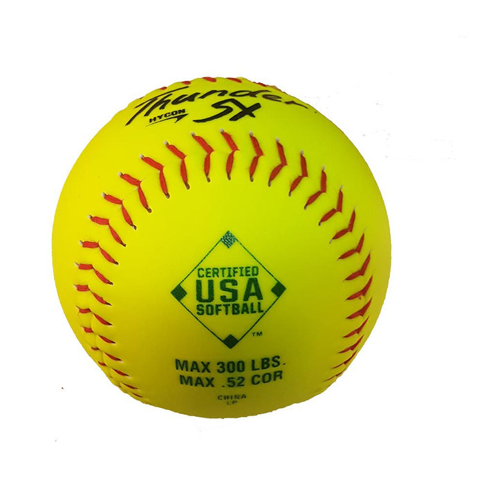Dudley Hycon SY Synthetic ASA 52-300 12 Inch Softball - One Dozen: 4A069Y