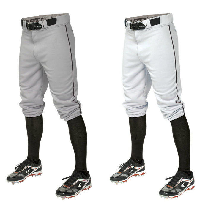 "Easton Youth Pro Piped ""Knicker"" Pant White/Black Large: A167106"