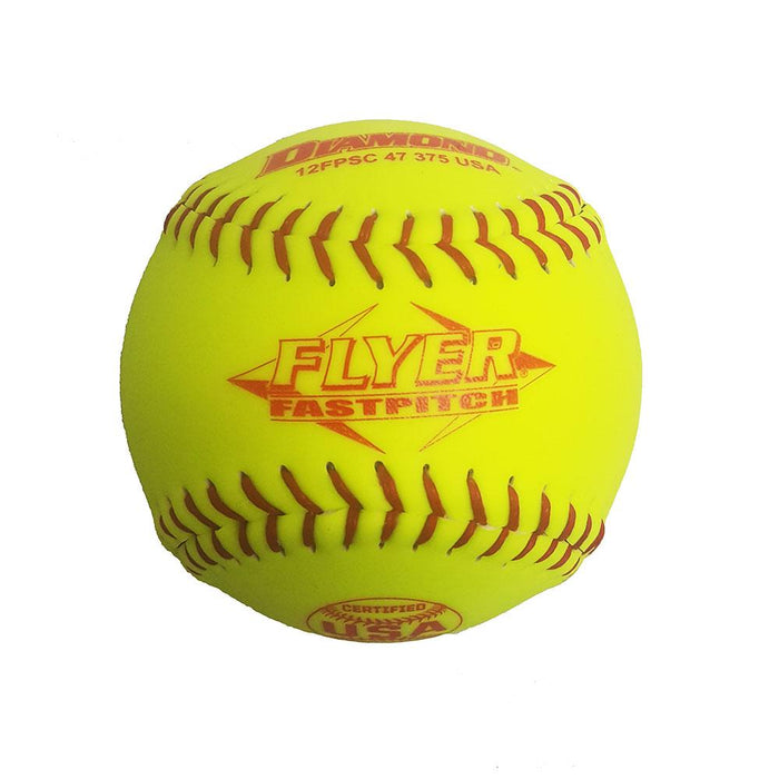 Diamond Reduced Compression Fastpitch Softball ASA Stamped Dozen