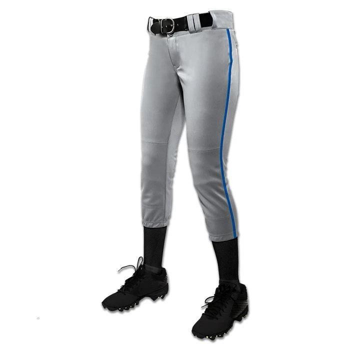 Champro Women/Girl's Tournament Low Rise Piped Pants: BP11P