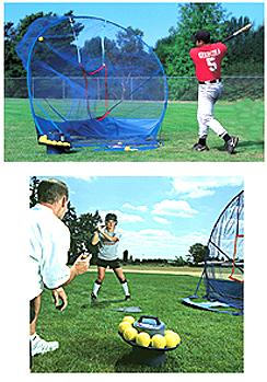 JUGS Toss Machine Baseball Package