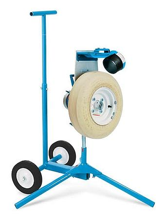 JUGS Softball Pitching Machine With Cart With 12 Inch Chute