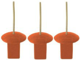 Markwort Base Plugs with Indicator