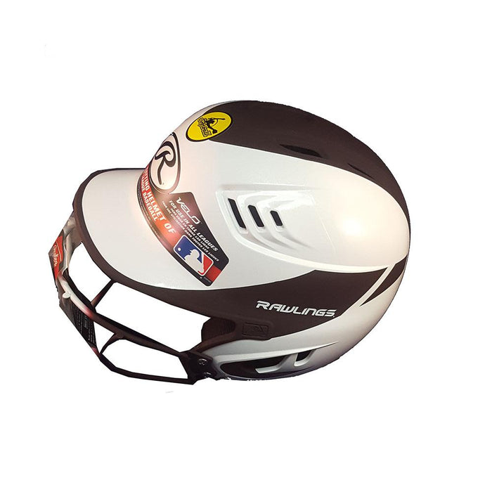 Rawlings Home Velo Softball Helmet With Mask Matte Junior: R16H2FGJ
