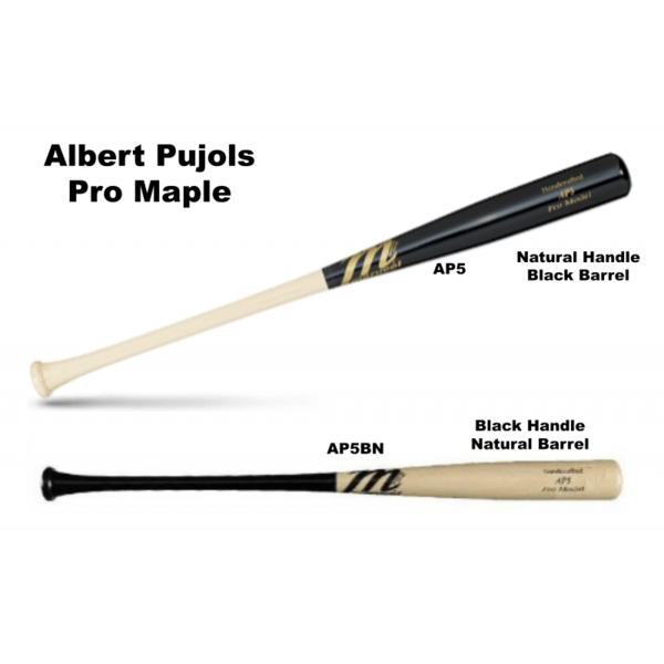 Marucci Pujols AP5 Pro Model Wood Baseball Bat 2 1-2 Inch Barrel
