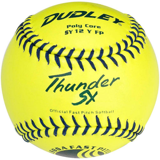 Dudley Thunder SY USSSA Fastpitch 12 Inch Synthetic Softball: 4U913Y