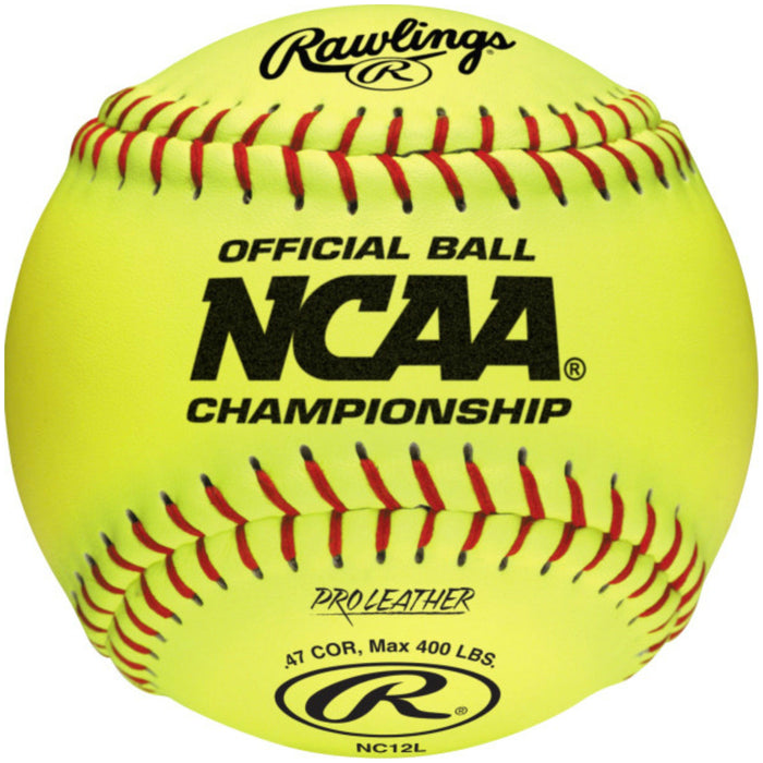 Rawlings NC12L NCAA Game Softball: NC12L