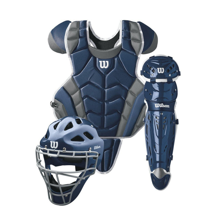 Wilson C1K™ Intermediate Catcher's Gear Set (NOCSAE Approved): WTA4604