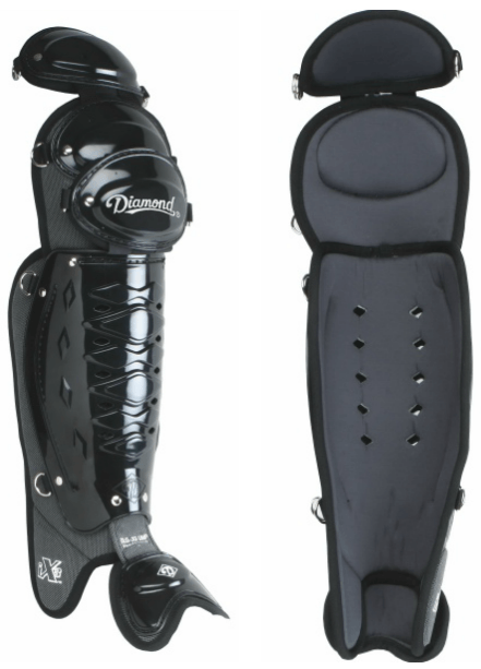 Diamond 17 Inch Umpire Leg Guards