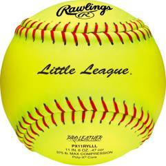 Rawlings Little League 11 inch Leather Fastpitch Softball: PX11RYLLL