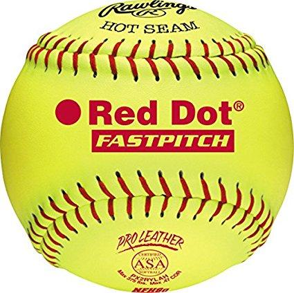 Rawlings Red Dot Fastpitch  ASA & NFHS Softball