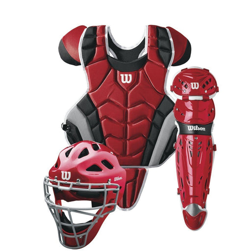Wilson C1K™ Adult Catcher's Gear Set (NOCSAE Approved): WTA4603