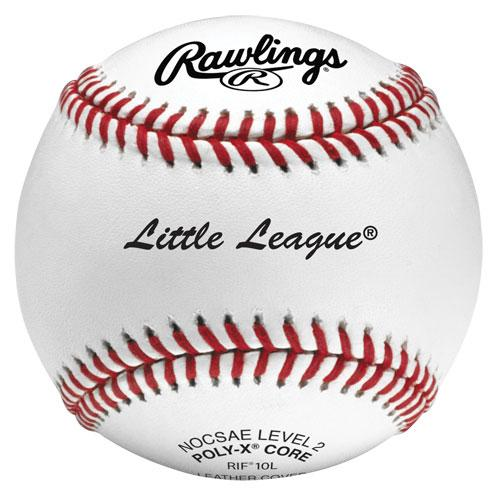 Rawlings Dozen Little League Training Baseballs Level 2: RIF10L