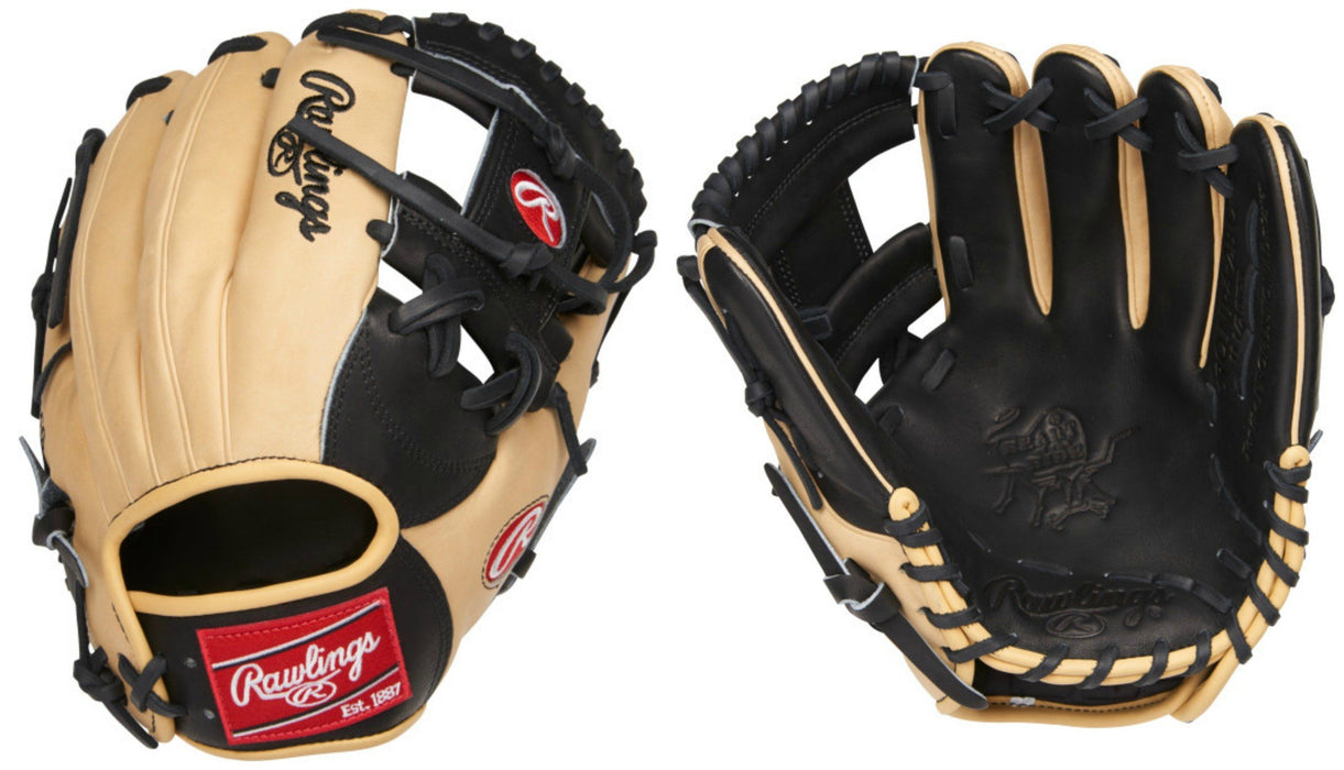Rawlings Heart of the Hide 11.5 inch Baseball Glove: PRONP4-2BC