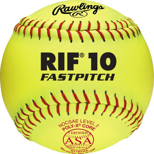 Rawlings RIF 11 Inch Fastpithc Synthetic Ball: R11RYSA